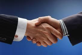 manos en la negociacion